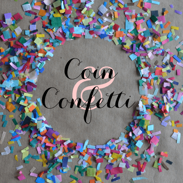 Coin and Confetti Square
