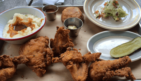 Fried Chicken at Punks Simple Southern Food
