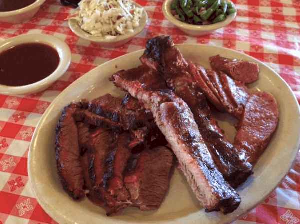 Gabys Three Meat Plate 1