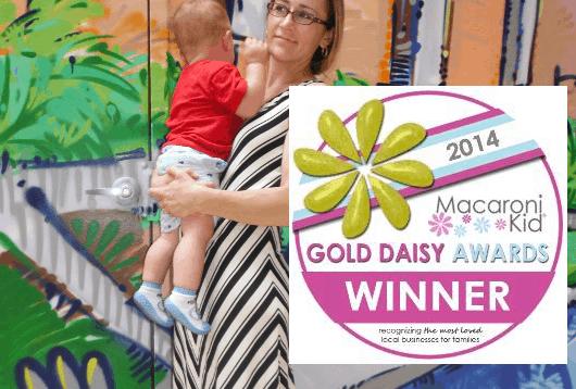 Macaroni Kid Golden Daisy Award