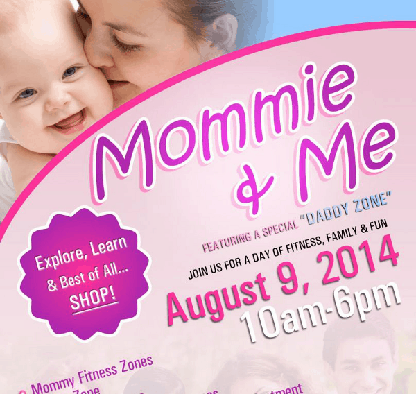 Mommie and Me Flyer Feature