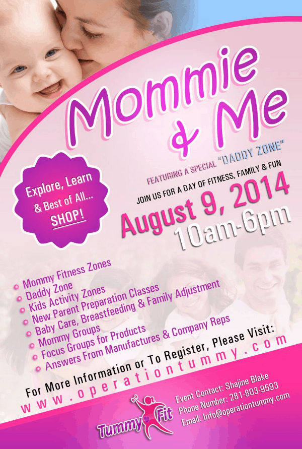 Mommie and Me Flyer