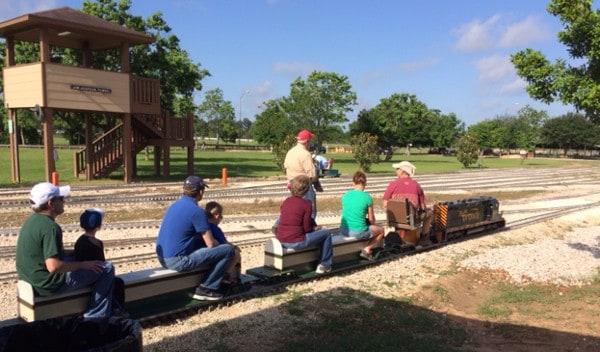 Train at Zube Park