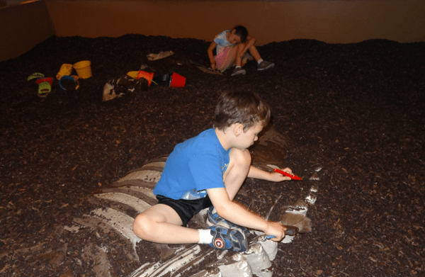 Digging at Houston Museum of Natural Science Sugar Land