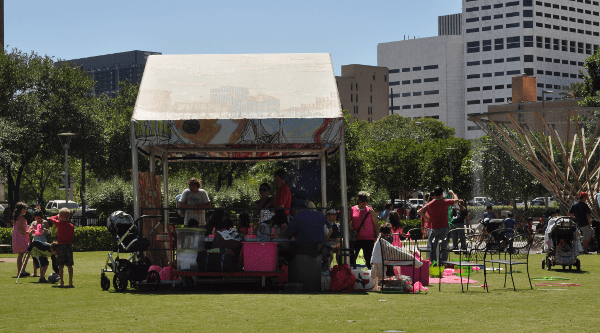Discovery Green Family Celebration Tent