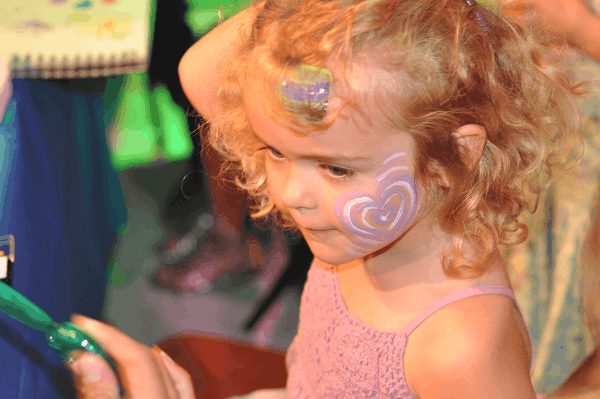 Face Painting at Main Street Theater