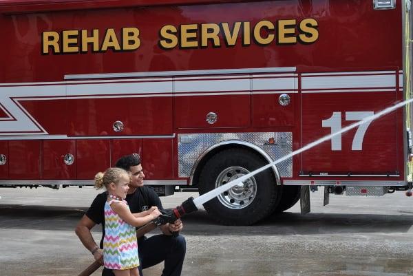 Fire Station 8 Brooke Fire Hose