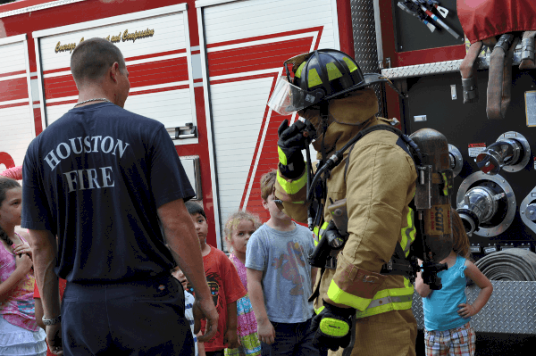 Fire Station Tour at Station 16