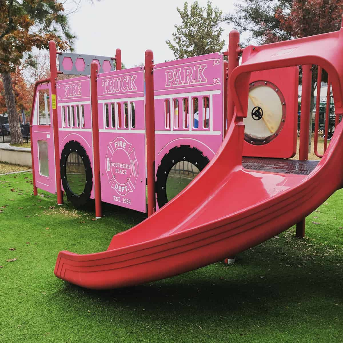 Fire Truck Play Structure