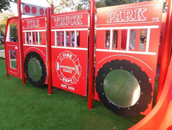 Fire Truck at Fire Truck Park