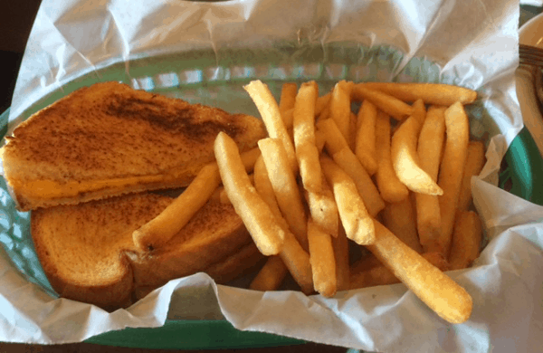Grilled Cheese at Island Grill
