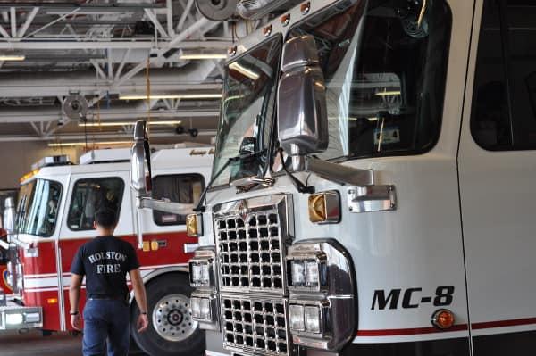 Houston Fire Station 8 Garage