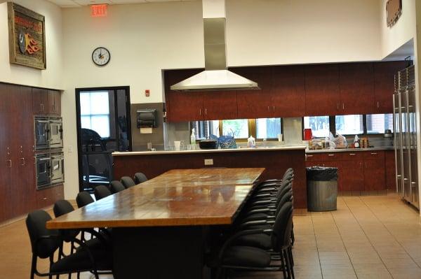 Houston Fire Station 8 Kitchen Family Room