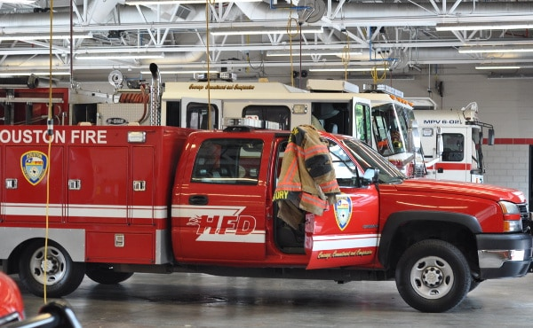 Houston Fire Station 8 Trucks