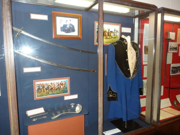 Museum Items from Battleship TEXAS