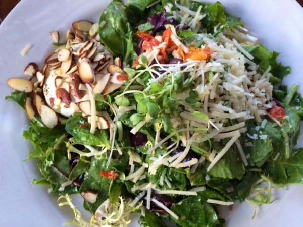 Ruggles Green Goat Cheese Salad