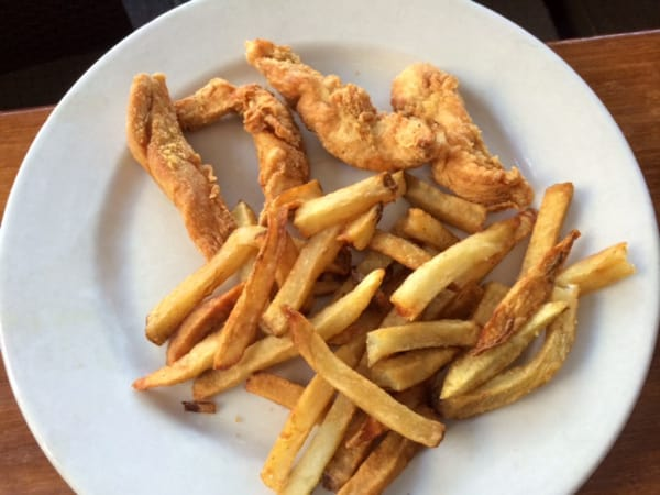 Ruggles Green Kids Chicken and Fries