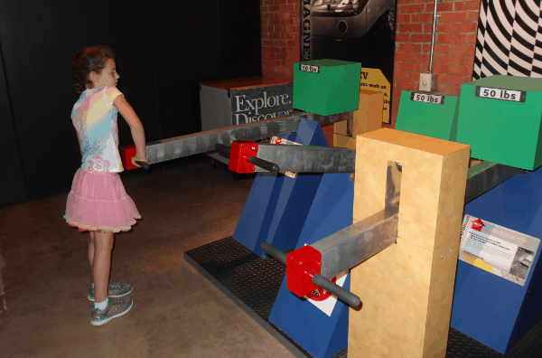 Simple Machines at Houston Museum of Natural Science Sugar Land