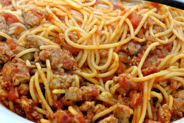 Spaghetti with Meat Sauce1