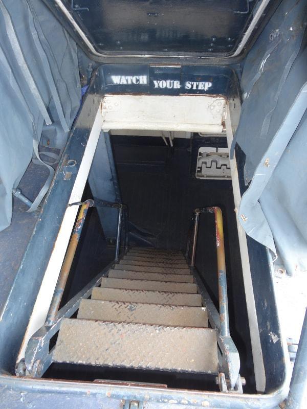 Stairs in Battleship Texas