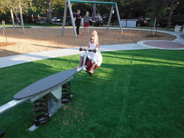 Teeter Totter at Fire Truck Park
