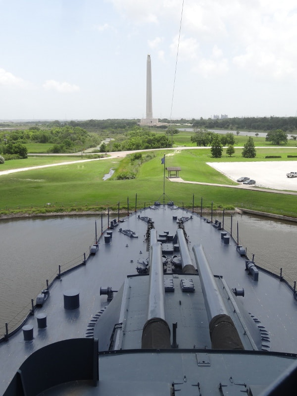 Beyond the beltway battleship texas and the san jacinto for How far is la porte tx from houston tx