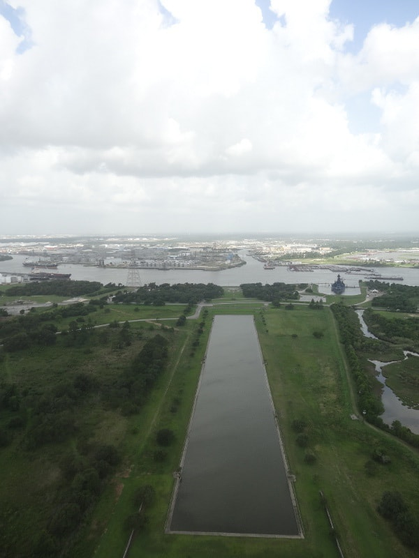 View from top of San Jacinto Monument