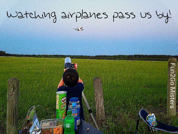 Watching Airplanes Pass By