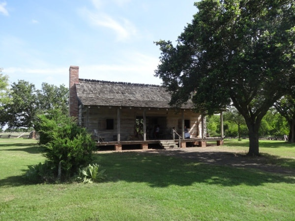 1 Jones cabin at George Ranch Historical Park