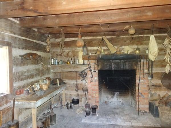 2 Jones cabin at George Ranch Historical Park