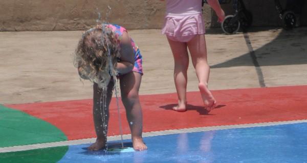 Cool Off at the Houston Zoo Splash Pad