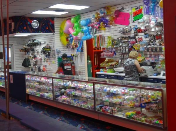Dairy Ashford Roller Rink Gift Shop