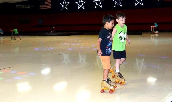 Dairy Ashford Roller Rink SkatingF
