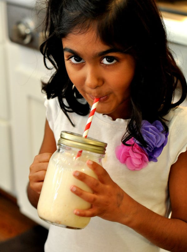 Drinking Borden Milk