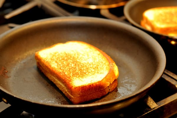 Grilled Cheese with Borden Cheese