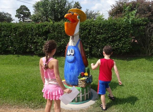 Le Jardineier the Seabrook Pelican