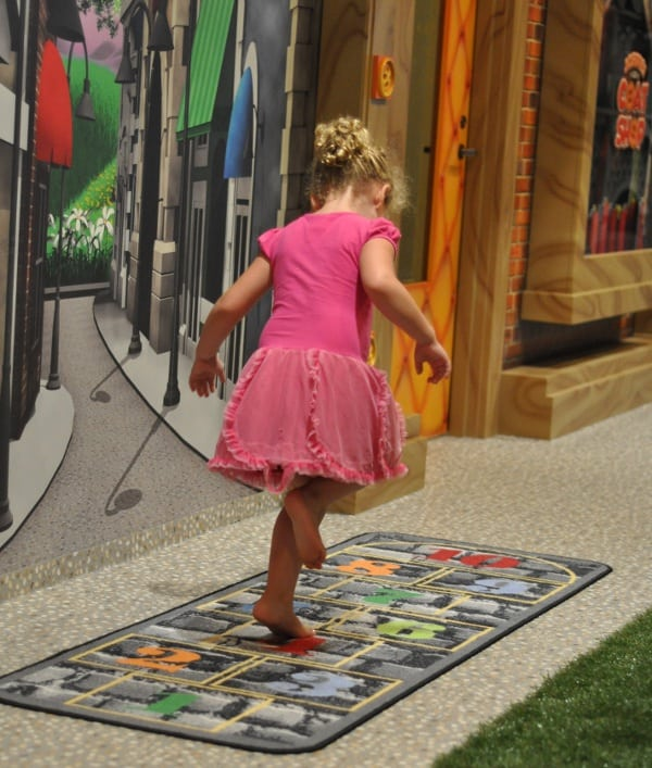 Main Street Indoor Park Hopscotch