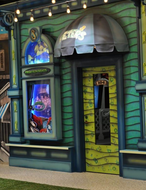 Main Street Indoor Park Shtore Fronts