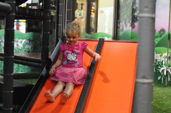 Main Street Indoor Park Slide