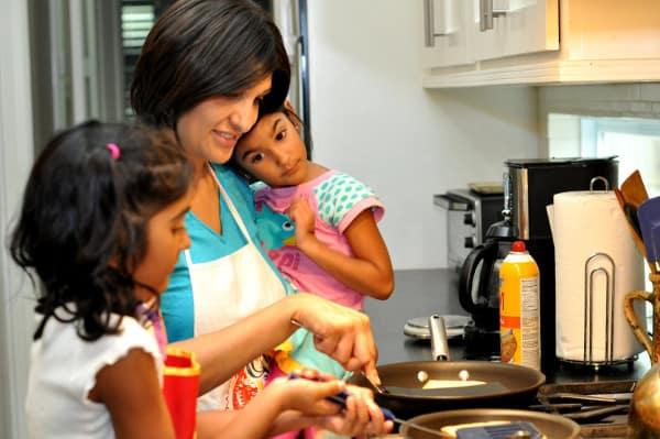 Pranika Making Borden Inspired Dinner