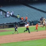 Running the Bases at Minute Maid Park