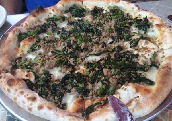Salsiccia E Friarielli at Dolce Vita