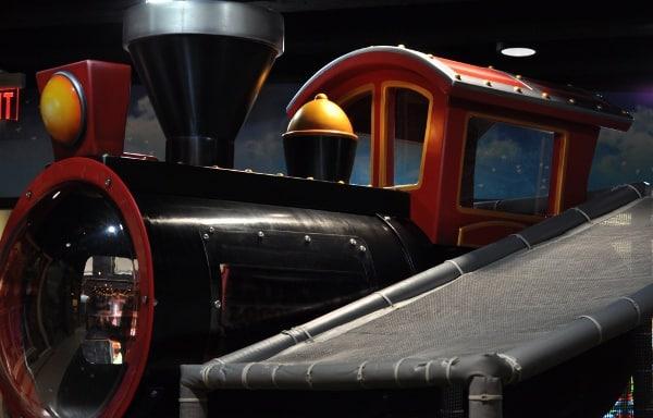Train at Main Street Indoor Park