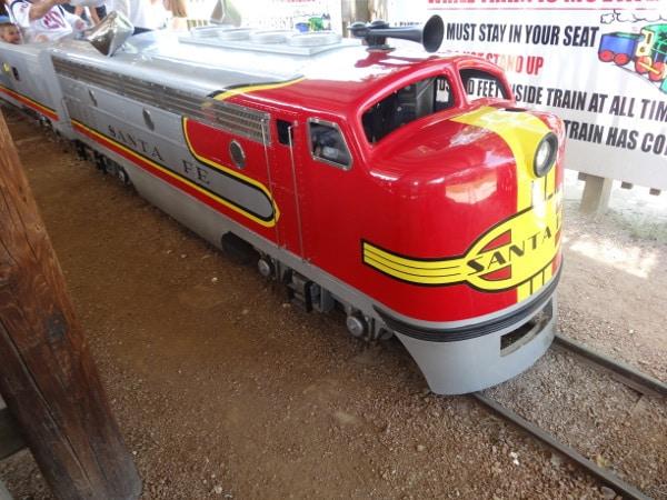 Train at Old Mac Donalds Farm