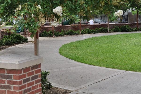 West Webster Park Circle Sidewalk