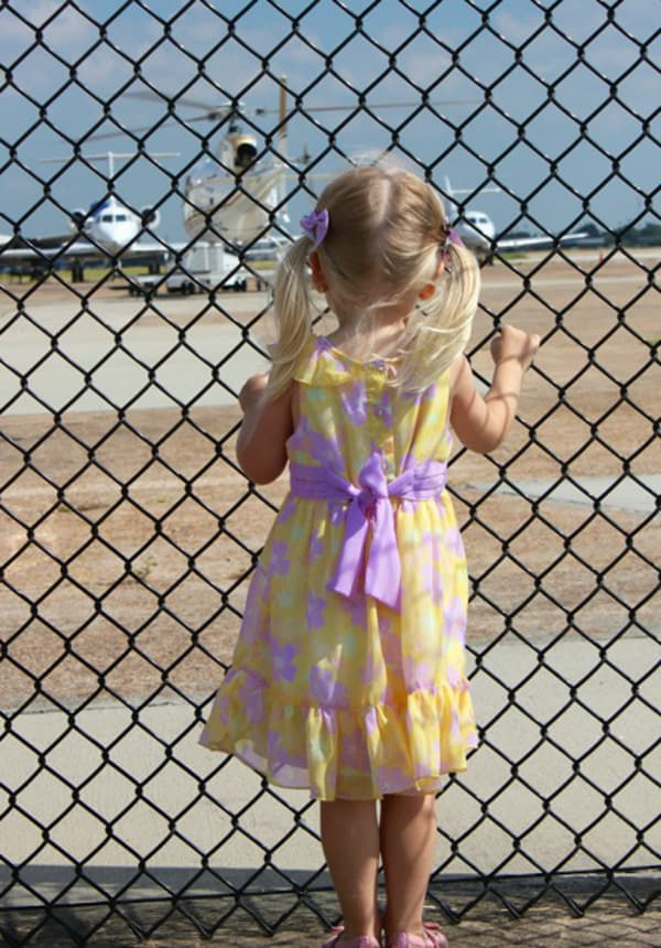 1940 Air Terminal Museum Watching Airplanes