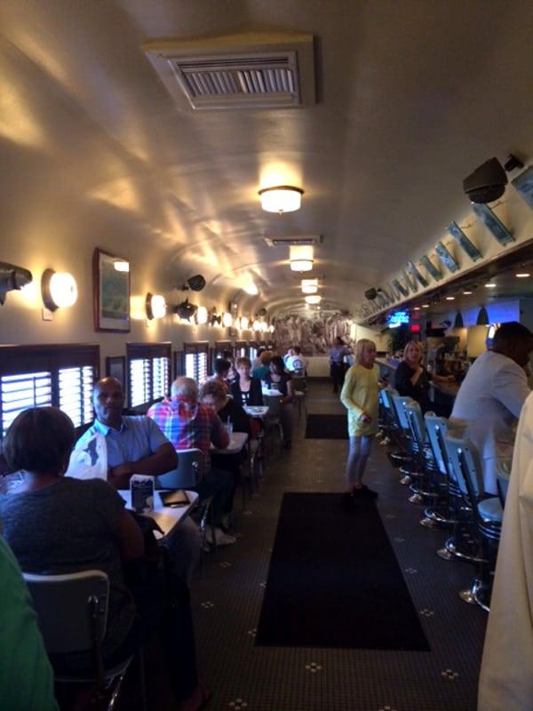 Goode Company Seafood Train Car
