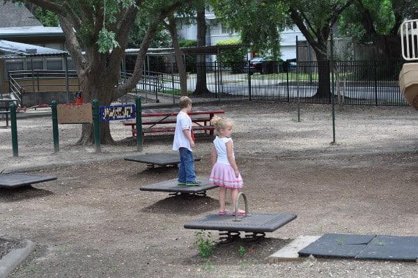 Roberts Spark Park Jumping Squares