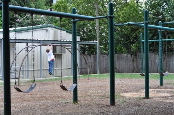 Roberts Spark Park Swings