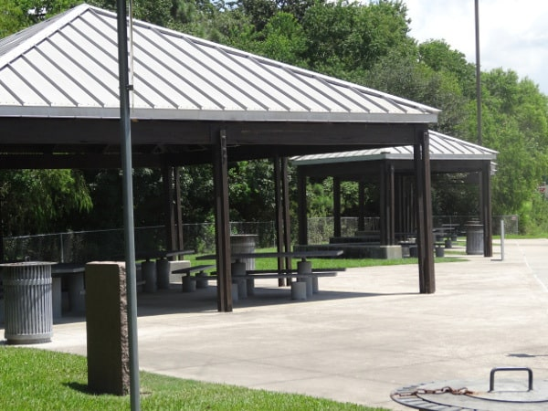 Texas Traveler Information Center Picnic Tables